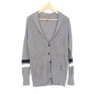 American Eagle Wool Blend Gray Button Up Cardigan